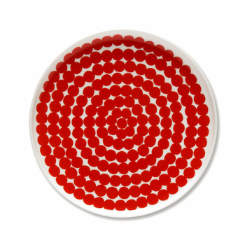 marimekko-rasymatto-red-side-plate